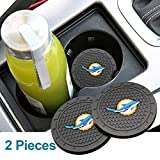 KeepHouse 2PCS 2.75 Inch Cup Coaster Slip Cup Holder Durable Cup Mat Car Interior Accessories (N2)