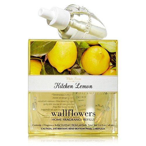 Bath & Body Works Wallflowers Home Fragrance Refill Bulbs 2 Pack Kitchen Lemon