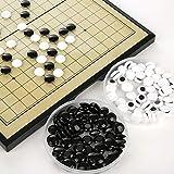 haodene Klassische Brettspiele Backgammon magnetisch Go-Spiel Outdoor Leisure Chess Schachspiel für Kinder -