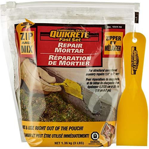 1.36kg Zip and Mix Repair Mortar for Concrete