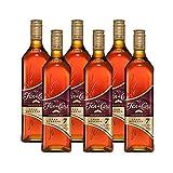 Ron Flor de Caña Gran Reserva 7 años de 70 cl - D.O. Nicaragua - Bodegas Osborne (Pack de 6 botellas)