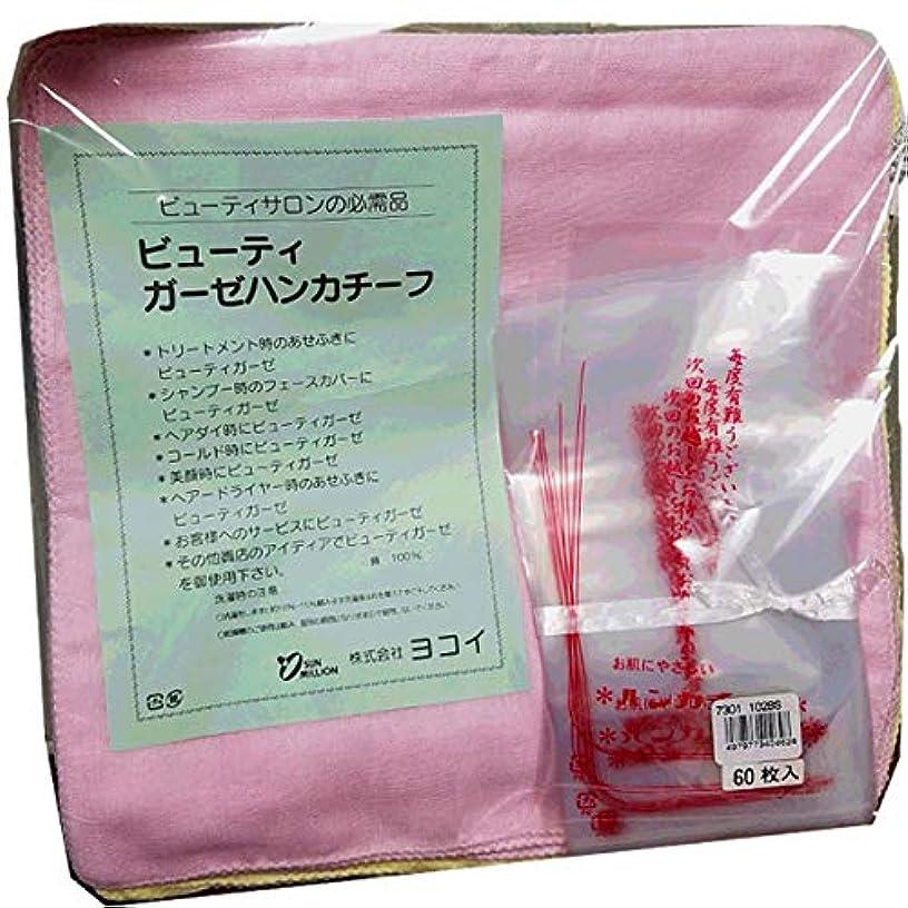 発揮するリーズサロンヨコイ フェイスガーゼ メロー 5ダース(60枚入) ピンク?ブルー?イエロー3色 131BS