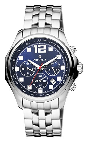 Orphelia Herren-Armbanduhr La Grande Dual Time Quarz