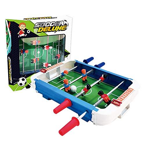 Banane Futbolín de mesa, juego de fútbol de interior, juego de mesa interesante | Niños / adultos / familia | Ligero y portátil, 40,6 - 40,6 cm