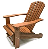 Outdoor Interiors CD3111 Eucalyptus Adirondack Chair and...