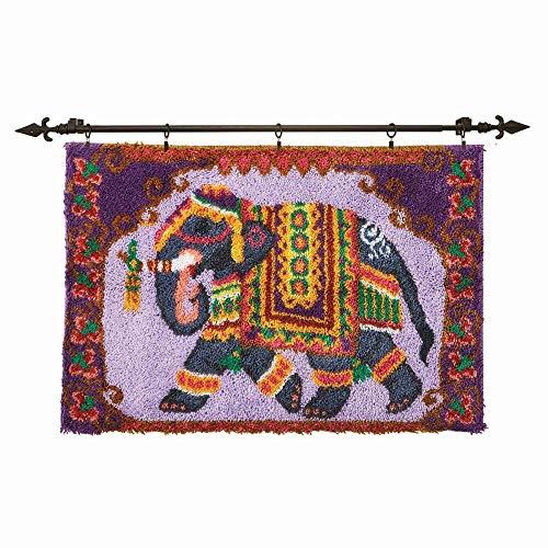 Herrschners Elephant Parade Latch Hook Kit