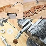 Lavorazione del legno regolabile fai da te Sega a scorrimento Coping Strumento in acciaio ...