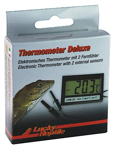 Lucky Reptile LTH-31 Thermometer Deluxe, elektronisch mit Fernfühler