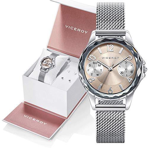 Reloj Viceroy Niña Pack 401018-99 + Pendientes de Regalo