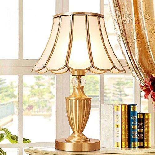 Bonne chose lampe de table Lampe de table en cuivre de haute qualité Lampe de table en cuivre Corps de lampe et lampe de chevet