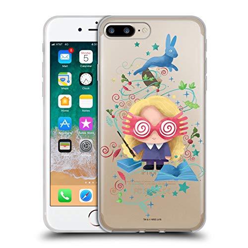 Head Case Designs Oficial Harry Potter Luna Lovegood Deathly Hallows II Carcasa de Gel de Silicona Compatible con Apple iPhone 7 Plus/iPhone 8 Plus