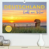 DEUTSCHLAND - Licht am Meer (Premium, hochwertiger DIN A2 Wandkalender 2022, Kunstdruck in Hochglanz): Lichtstimmungen an Ostsee und Nordsee (Monatskalender, 14 Seiten )