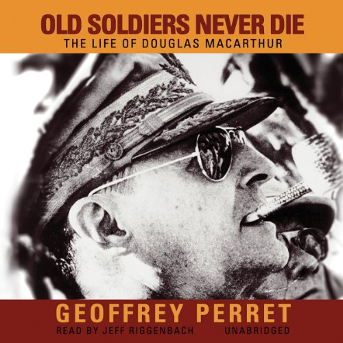 Old Soldiers Never Die audiobook cover art