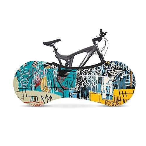 Kelsport Funda Elástica Universal de Bicicletas para Almacenamiento en Interiores (Graffitti)