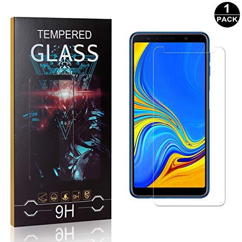 Bear Village® Verre Trempé pour Galaxy A7 2017, Anti Rayures Protection en Verre Trempé Écran pour Samsung Galaxy A7 2017, Dureté 9H, 99% Transparent, 1 Pièces