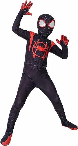 venta con descuento ASJUNQ Spiderman Niños Niños Niños Cosplay Medias Fiesta Temática De Halloween Disfraz Bola Props,negro-S  Venta en línea precio bajo descuento