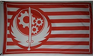 New California Brotherhood of Steel Red Fallout 4 Exclusive Flag 3x5 feet