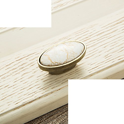 Der Marmor Tür,Keramik Griff-marmor/Europäisch,Schrank,Ländlichen,Antike Hand/Kleiderschrank,Kupfer Armaturen-C