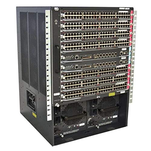 Cisco Systems Cisco Catalyst 6509-E-SUP32-GE-3B Grundeinheit + Supervisor Engine 32 (8 GE Version) + Fan Tray