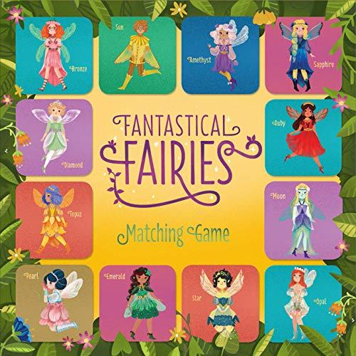 Fantastical Fairies Matching Game (Matching Board Game, Fairy Game, Princess Matching Game, Memory Games for Children, Board Games for Children)