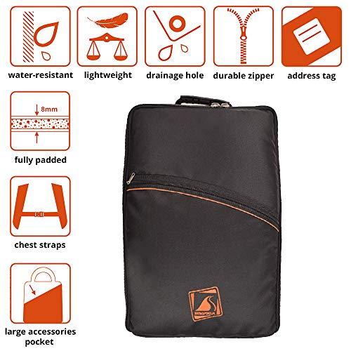 Boot Bag/Backpack SLIMbag Prestige - zeer smalle rugzak voor ski- en snowboardschoenen