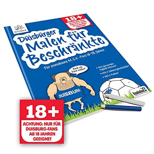 Duisburg Fanartikel ist jetzt Duisburger Malbuch für Beschränkte by Ligakakao.de