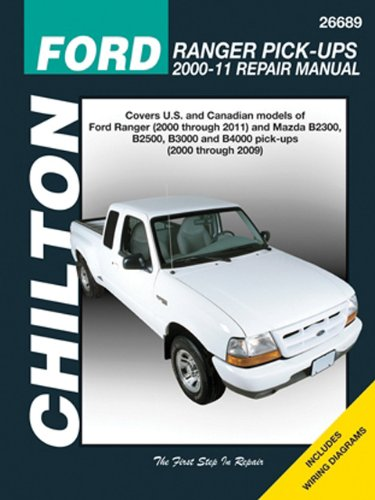 Chilton Total Car Care Ford Ranger Pick-ups 2000-2011 & Mazda B-series Pick-ups 2000-2009 (Chilton's Total Car Care Repair Manuals)