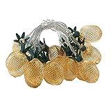 Cadena de luces 3m 20 Led piña cuerda luz Navidad hada camada luz dormitorio fiesta fiesta Navidad Globo bola hada cuerda luz