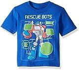 Transformers Toddler Boy's Rescue Bots Shirt, Royal, 2T