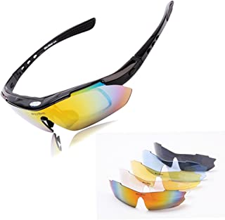 POLARIZE Sports Cycling Sunglasses for Men Women Cycling Riding Running Glasses
