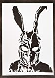 Póster Donnie Darko Frank Grafiti Hecho a Mano - Handmade Street Art - Aesthetic Artwork