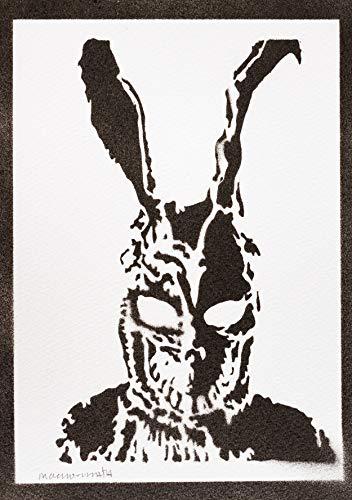 Poster Donnie Darko Frank Handmade Graffiti Street Art - Artwork