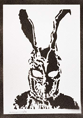 Frank Donnie Darko Poster Plakat Handmade Graffiti Street Art - Artwork