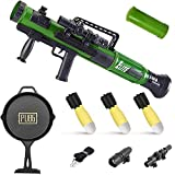 KoudHug Military Toy Rocket Launcher Set, Worker Tactics Missile Mortar Air Gun Toy with 3 Safety LED Foam Shell - Artillery Launcher Best Gift for Boys & Girls - Great for Outdoor Play (Green A)