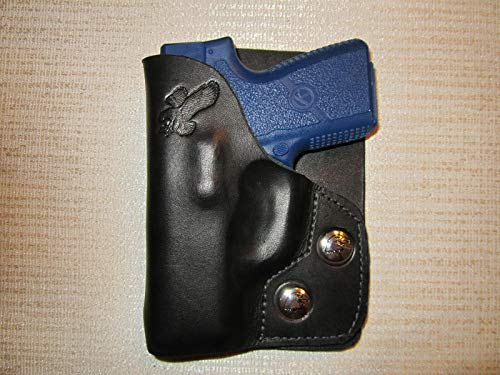 KAHR PM9 & CM9 Formed Leather Right Hand, Wallet Holster or Pocket Holster