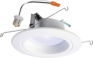 Sponsored Ad - Halo RL56129BLE40AWH White RL 5 in. & 6 in. 2700K-5000K Tunable Smart Integrated LED Recessed Ceiling Light...