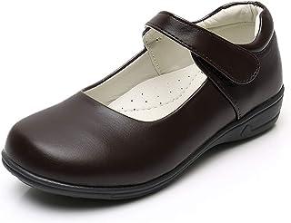 Sponsored Ad - Akk Girl's Mary Jane School Uniform Shoes Strap Dress Uniform Flats Black (Toddler/Little Girl/Big Girl)