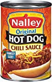 Nalley Hot Dog Chili Sauce, 14-Ounce Cans (Pack of 12)