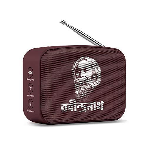Saregama Carvaan Mini Bluetooth Speaker (RabindraSangeet-Terracotta)