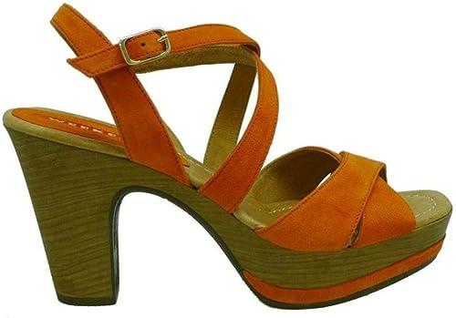 WEEKEND schuhe damen Sandalias 17462 Orange 37