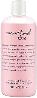 Philosophy Unconditional Love 16.0 oz Perfumed Shampoo, Bath & Shower Gel