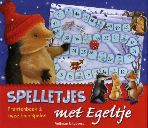 Spelletjes spelen met Egeltje: prentenboek en twee bordspelen