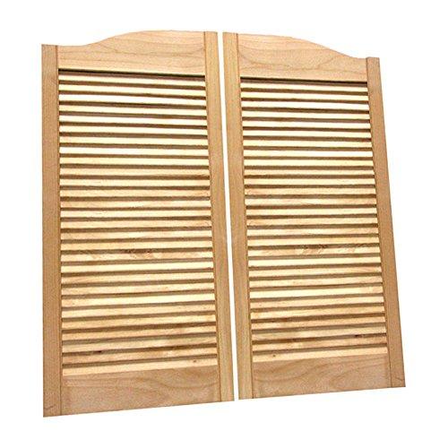 Cafe Doors by Cafe Doors Emporium | Alder Wood Cafe Doors |Hardwood from Managed Forestry | Prefit for 32