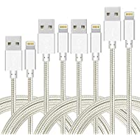 4-Pack Firsting Nylon Braided Charging Cord Charger