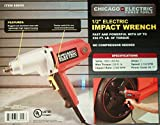 NEW Electric 1/2 in Impact Wrench Gun Reversible Corded REMOVES LUG NUTS EASILY