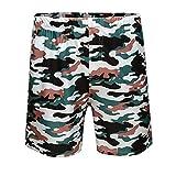 N\P Pantalones de playa de verano para hombre