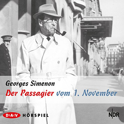 Der Passagier vom 1. November audiobook cover art