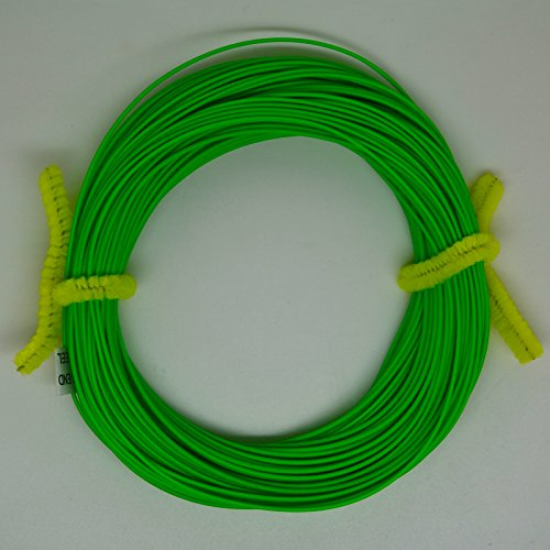 100FT Weight Forward Floating (4F,5F,6F,7F,8F) Fly Fishing Lines Orange, Blue, Yellow,Green