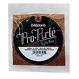 d'Addario J4504 Pro-Arte, cuerda individual de nailon para guitarra clásica, tensión normal, cuarta cuerda, Transparente, 074