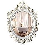 Ovalado Vintage Espejos de baño para Pared Maquillaje Cosmético Encimera...